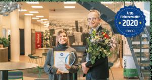 ESSVE- Årets Finfoleverantör 2020