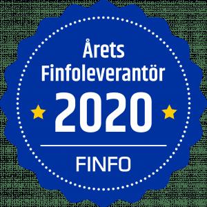 Årets Finfoleverantör 2020