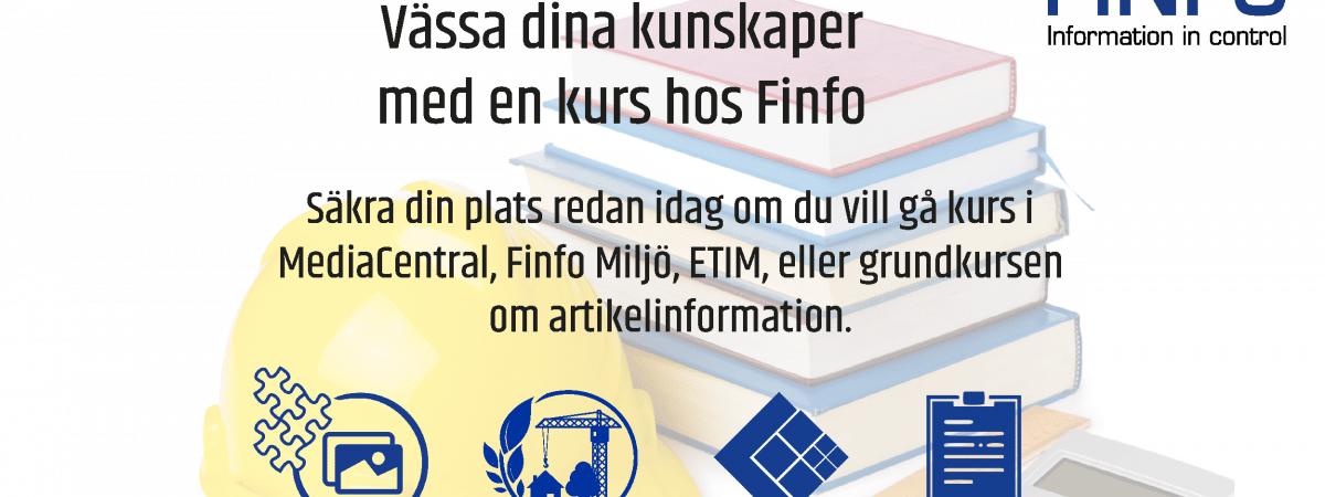 Utbildningar hos Finfo
