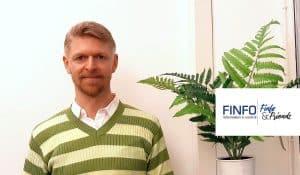 Finfo&Friends möter Finfos vd Troels Hansen