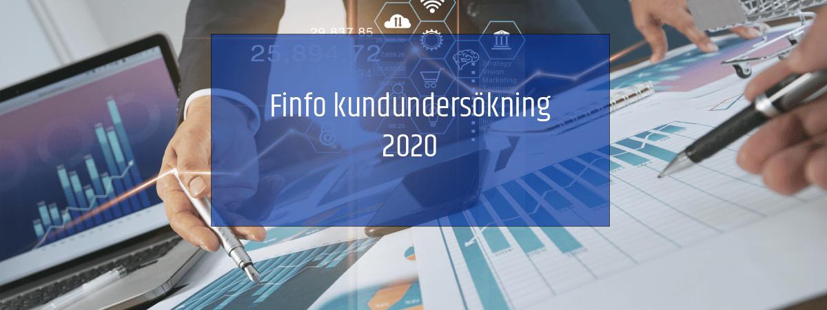 Finfos kundundersökning 2020